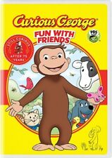 CURIOUS GEORGE FUN WITH FRIENDS New Sealed DVD
