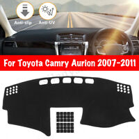 Dashboard Cover Dashmat Sun Dash Mat Pad Fit For Toyota Camry Aurion 2007-2011
