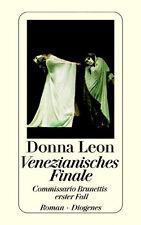 Donna Leon - Venezianisches Finale -- Diogenes, gebunden - weißer Schutzumschlag