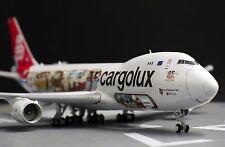 """Cargolux B747-8F """" Cutaway Livery """" 1:400 JC Wings Diecast    XX4709 NO BOX!!!!!"""