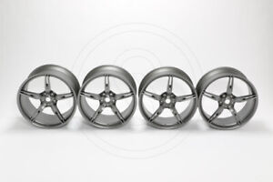 "Ferrari 458 Speciale 20"" Opaque Grey Wheel Set (New) 70003295"