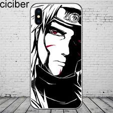 Anime Naruto Sasuke caso suave para iPhone 5SE 6 6S 7 8 XS Max XR 11 Plus X Pro