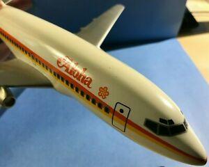 Vintage ALOHA AIRLINES Pacific Miniatures PACMIN 737-200 1/100 1970-80s HAWAIIAN
