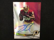 JORDAN REED 2013 Topps Platinum Football Refractor Rookie Autograph RC Auto B