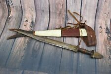 Antique Moroccan VTG arabic Islamic handmade Jambiya Koummya Dagger Knife Affric
