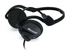 Microsoft LX 2000 Lifechat Folding Headset With Mic & Volume Control