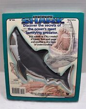 Uncover Shark Book 3 Dimensional Model Pieces 2004