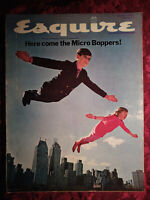ESQUIRE Magazine March 1968 Micro-Boppers Raphael Soyer Norman S Morris