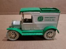 ERTL 1913 FORD MODEL T Van Iowa Safety Council LTD ED 1 OF 500 MADE 1/25
