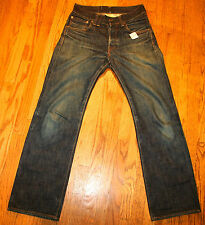 ANOCHRONORM for MEN SZ 28 X 30 JAPANESE SELVEDGE DENIM BUTTON FLY