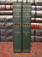 PERSONAL MEMOIRS OF GENERAL P. H. SHERIDAN - BRAND NEW - CIVIL WAR 2 VOLUME SET