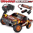 Traxxas 68054-1 Slash 4x4 Brushed 1/10 Short Course RTR Truck Batt Charger ORNG