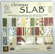 Scrapbooking Slab Provo Craft 90 sheet Paper Christmas 2003 Sealed Leere Aldrich
