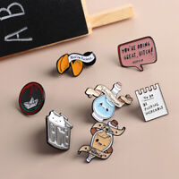 Geschenke Enamel Broches Lapel Pins Zaubertränke der Liebe Cartoon Badges