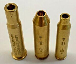 Bore Sighter .223 Rem Hunting Cartridge Red Dot Laser Sight Boresighter