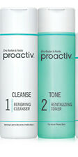 Proactiv 4oz Renewing Cleanser and Revitalizing Toner Duo 60 day ~ FREE SHIPPING