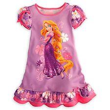 Disney Princess Rapunzel Nightshirt Nightgown Tangled All Sizes NWT Pink