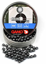 Gamo .22 Round Ball Lead BBs BB's - Pellet Alternative