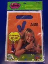 RARE Lizzie McGuire Hilary Duff Disney Birthday Party Favor Bags Treat Sacks