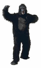 Gorilla Suit High Quality Fur Latex With Mask Hands Feet Halloween