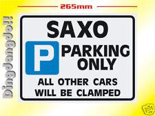 Saxo Citroen estacionamiento señal Novedad Regalo Vtr Vts