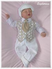 Eleganter Taufanzug Cord Taufe Festanzug Anzug Gr. 62,68,74,80,86 NEU