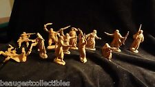 JECSAN REAMSA LAWRENCE OF ARABIA ARAB 14 PLASTIC FIGURES 1/32 SCALE FROM SPAIN