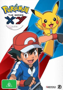 Pokemon - The Series X & Y : Collection 1 (DVD, 2014, 3-Disc Set)