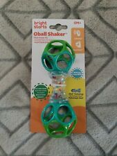 New! Oball 0M+ Shaker Easy Grasp Toy Bpa Free