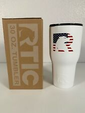 30oz RTIC Tumbler Special Edition America USA Coffee Cold Hot Drink SDS