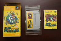 Super Famicom Super Mario World boxed Japan SFC games US Seller