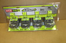 RYOBI ONE+18 V COMPACT LITHIUM BATTERIES (4 PACK) NEW P171 NEW