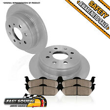 Rear Brake Rotors Ceramic Pads 1998 1999 2000 2001 2002 HONDA ACCORD EX DX LX SE