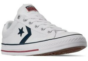 NEW Converse Star Player Ox Canvas Low Shoes Sneakers White  Mens Size 11