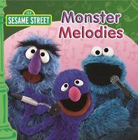 SESAME STREET Monster Melodies CD BRAND NEW Grover Cookie Monster ABC For Kids