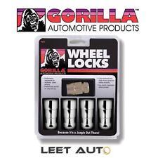 Gorilla Guard Wheel Locks - 14mm x 2.0 Thread, DUPLEX, Acorn Chrome 66601