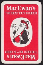 1 Single VINTAGE Swap/Playing Card MacEwan's BEST BUY in BEER SCOTSMAN Brewery