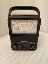Simpson 260 6p 1970s Vintage Multimeter Volt Ohm Milliamp Meter