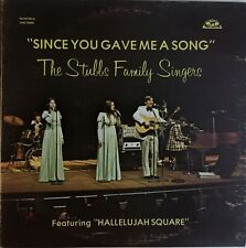 The Stubbs Family Singers LP Vinyl Bluegrass Gospel Old Homestead Records