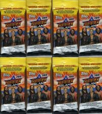 (8) 2019 Topps WWE SUMMER SLAM New Wrestling Trading Cards 21c. FAT PACK LOT