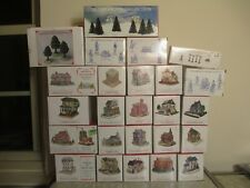 Huge Liberty Falls Collection lot of (24) Houses, Structures & Accessories! 1994