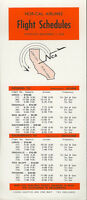 Norcal Airlines system timetable 9/1/73 [5082] Buy 4+ save 25%