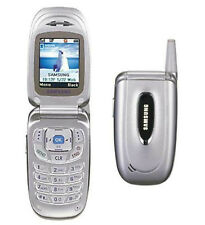 Samsung Verizon SCH-A650 SILVER Cell Phone Flip Camera No-Contract simple GPS