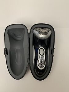 Philips Norelco Rechargeable Cordless Shaver 8171XL Speed XL Steel Travel Case