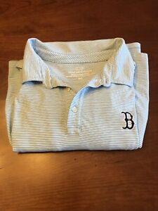 Vineyard Vines Boston Red Sox Edgartown Polo Shirt XXL 2XL Golf VGC Free Shippin