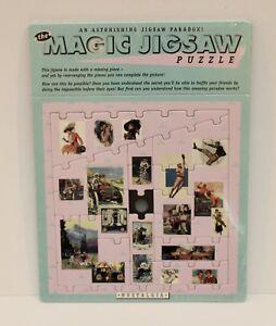 Vintage The Magic Jigsaw Puzzle - 1998 - Brain Teasing - Still Sealed - VGC