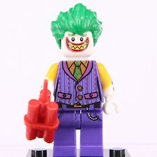 2017 Dc comics Batman MOVIE Super Heroes Joker Mini figures custom fit Lego
