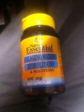 COLAGENO MARINO HIDROLIZADO & MAGNESIO 600 mg 60 cp nature essential