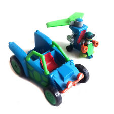 TMNT Turtles Half Shell Heroes Transforming Vehicle Play set with Figure lot