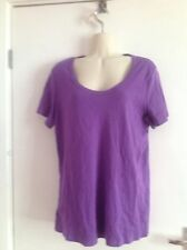 Marks and Spencer Plus Size Cotton Short Sleeve Tops & Shirts for Women